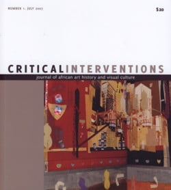 Critical Interventions