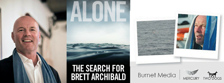 Book Launch of Alone by Brett Archibald