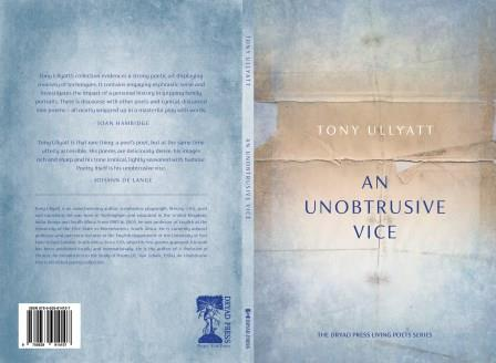 An Unobtrusive Vice – The debut collection of Tony Ullyatt | Tuesday 20th February 2018 | David Krut Projects – Montabello Design Centre, Newlands