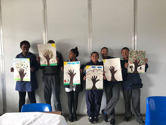 Visual Art Facilitation at Die Bron Primary