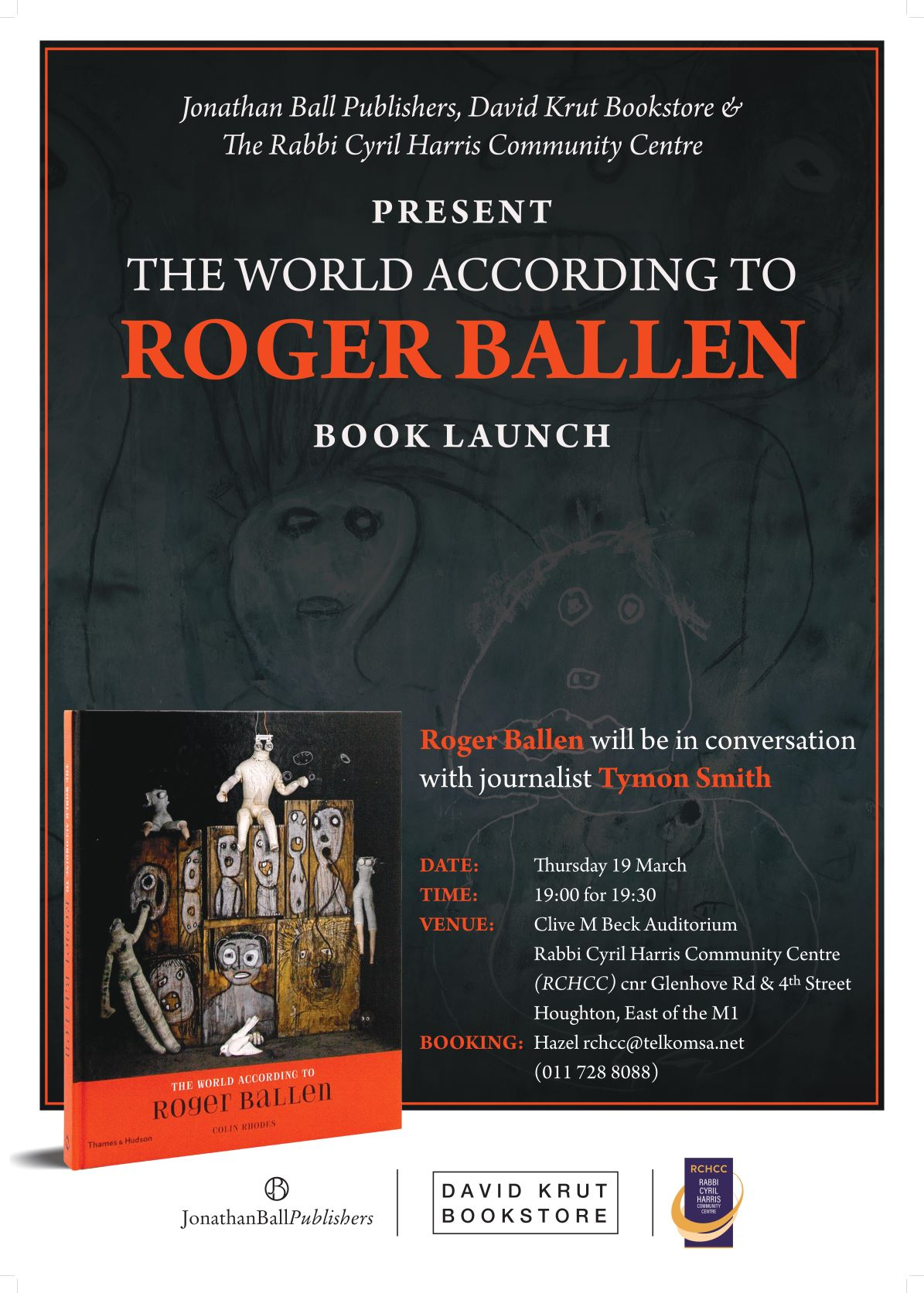 Book Launch | The World According to Roger Ballen