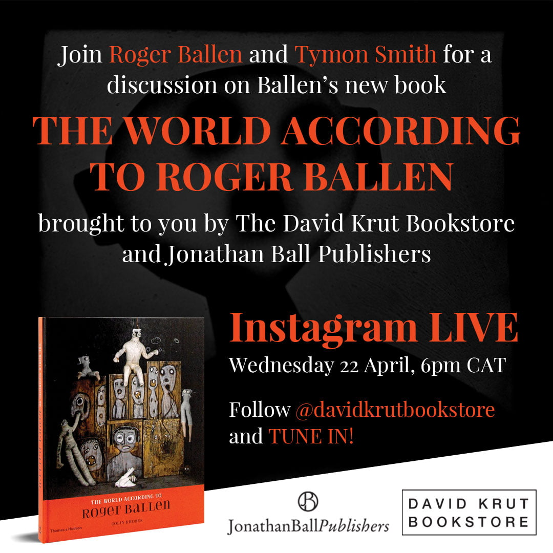 THE WORLD ACCORDING TO ROGER BALLEN | LIVE IGTV INTERVIEW WITH ROGER BALLEN AND TYMON SMITH
